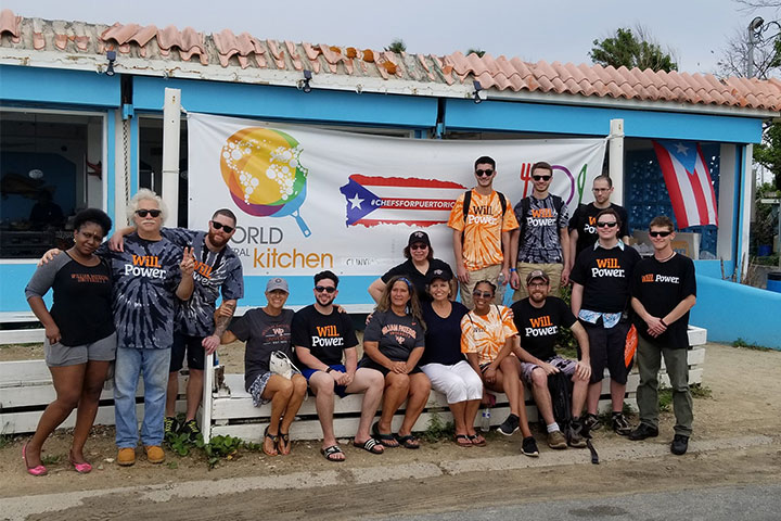 Communication students, faculty and staff help restore hurricane-ravaged radio station in Puerto Rico