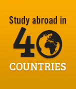 study abroad in 40 countries
