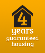 4 years guaranteed housing